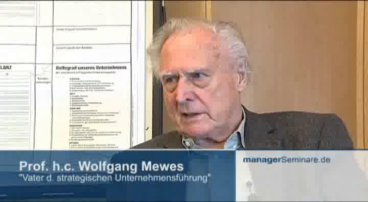 Link Wolfgang Mewes im Interview