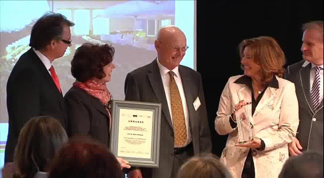 Link LAA ging erstmals an einen internationalen Preisträger