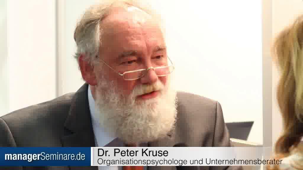 """Link Peter Kruse: """"Die Führungsmacht ist erschüttert"""""""