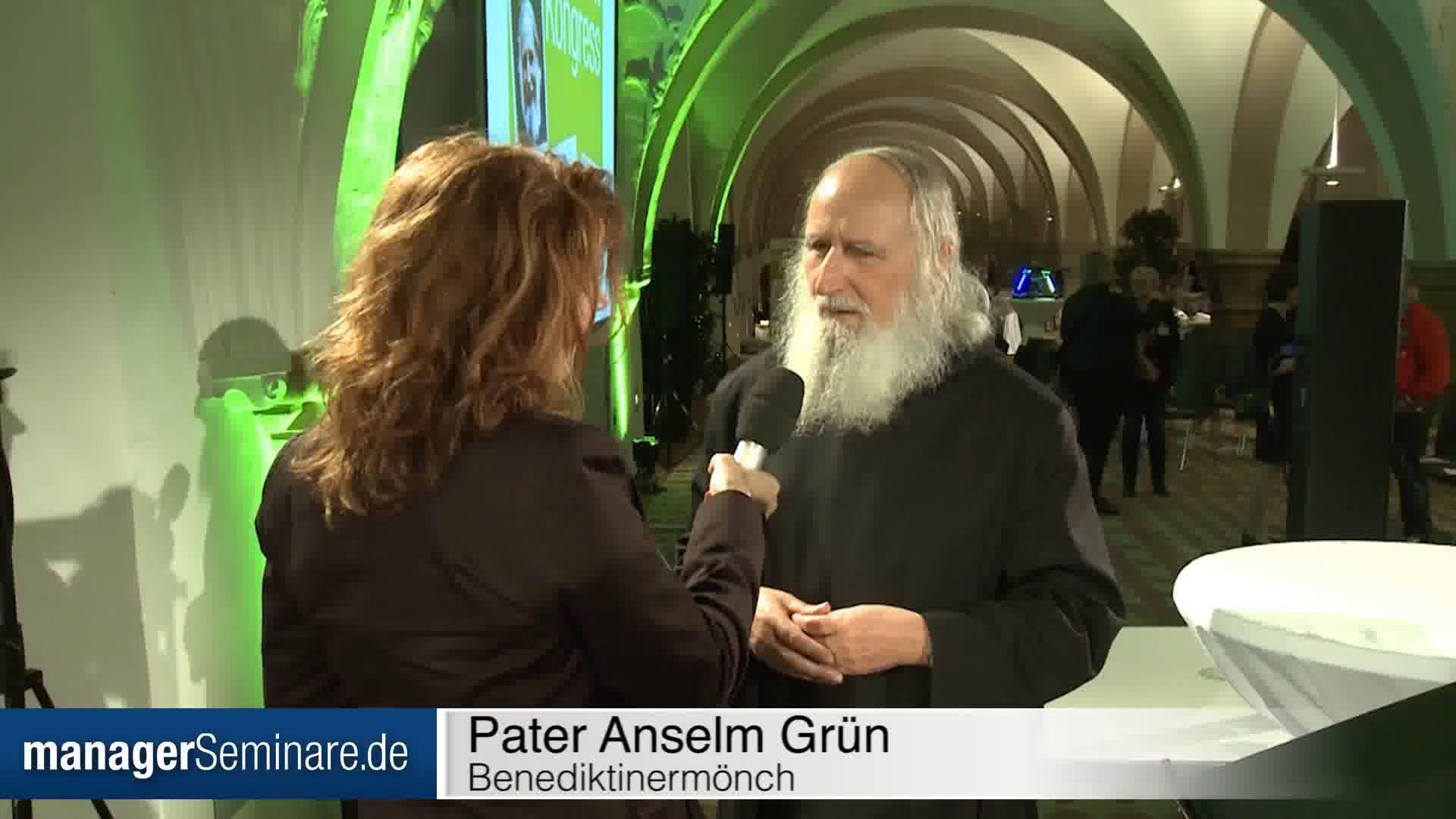 """Link Pater Anselm Grün: """"Werte sind Kraftquellen"""""""