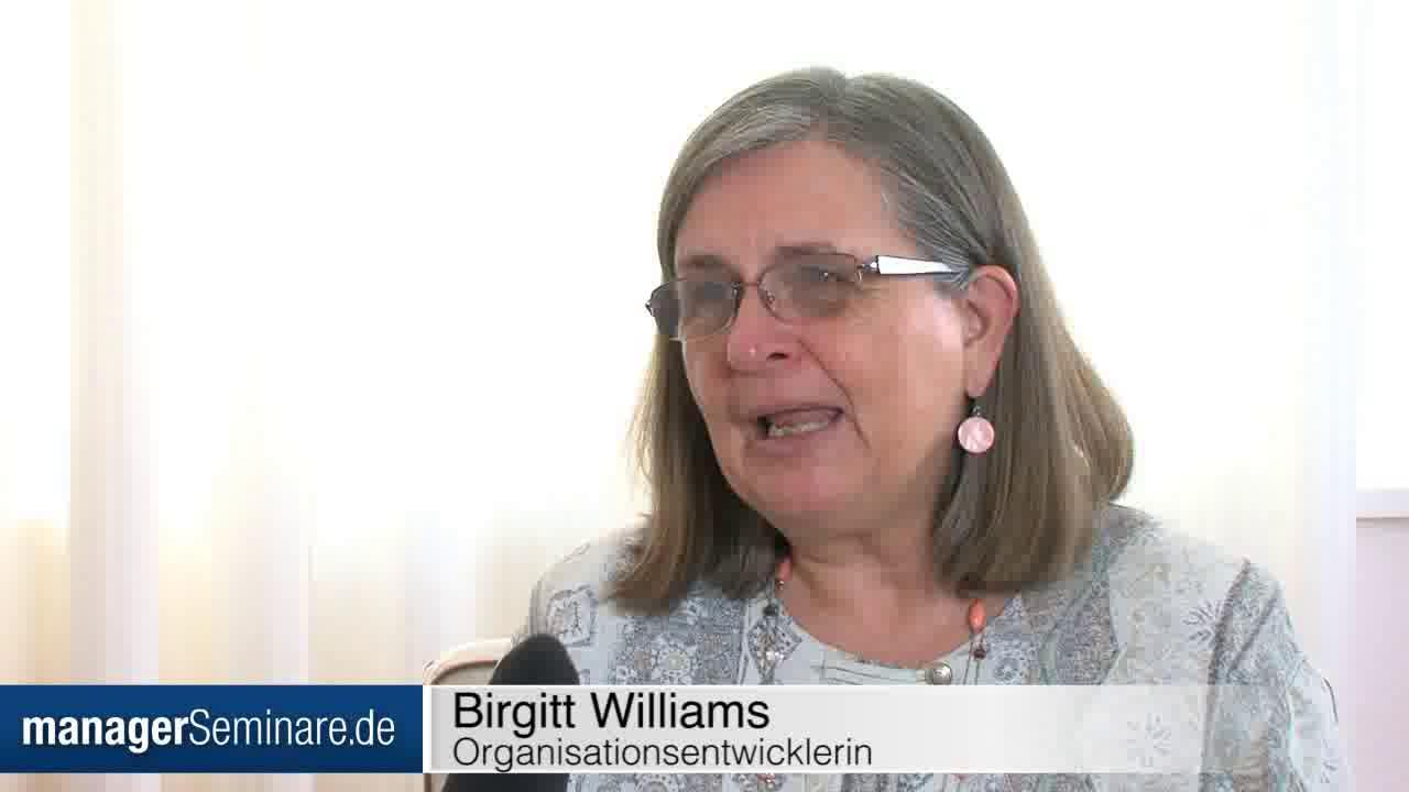 Link Birgitt Williams: Warum sich Führung ändern muss
