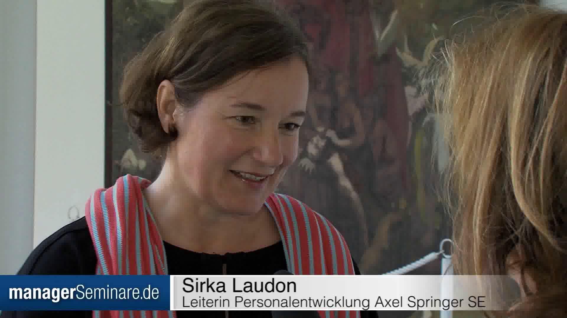 Link Sirka Laudon über die Herausforderungen des digitalen Wandels