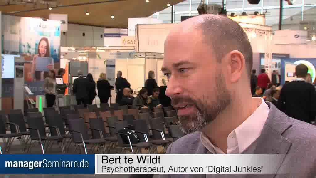 Link Bert te Wildt im Interview: 'Social Media können abhängig machen'