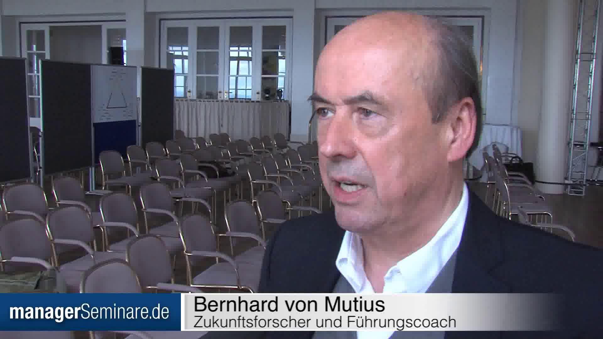 Link Bernhard von Mutius: 'Wir müssen mit Disruptionen umgehen lernen'