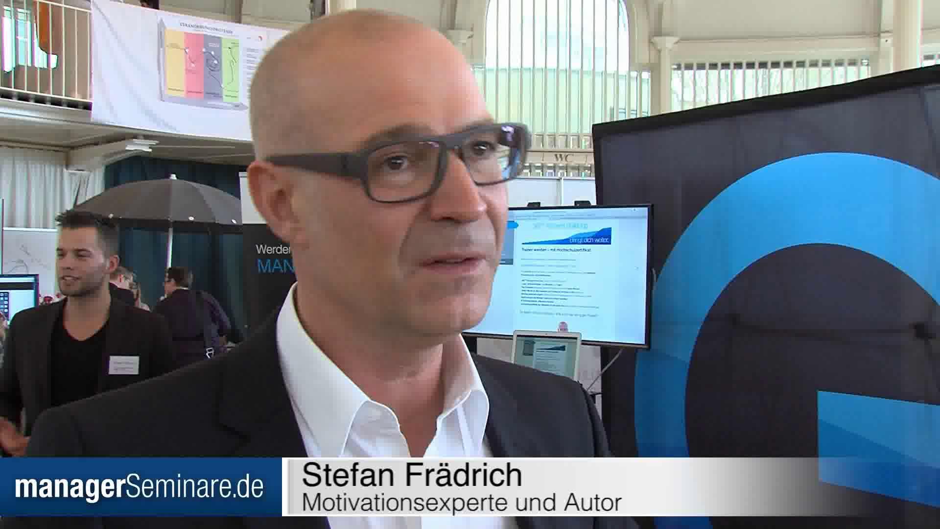 Link Stefan Frädrich: 'Ziele blockieren mehr als sie helfen'