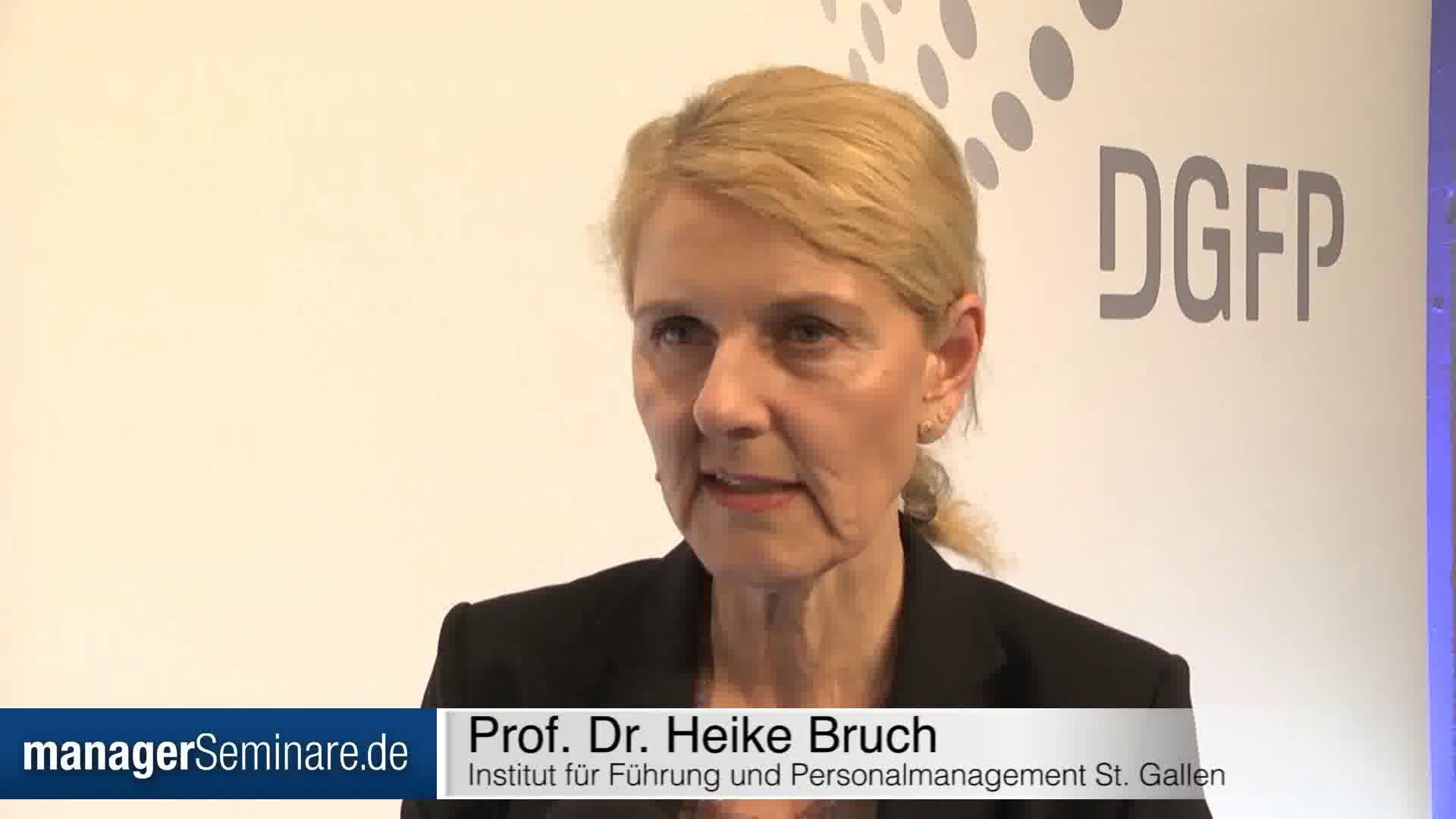 Link Heike Bruch: 'Neue Führung geht zurück auf tradierte Werte'