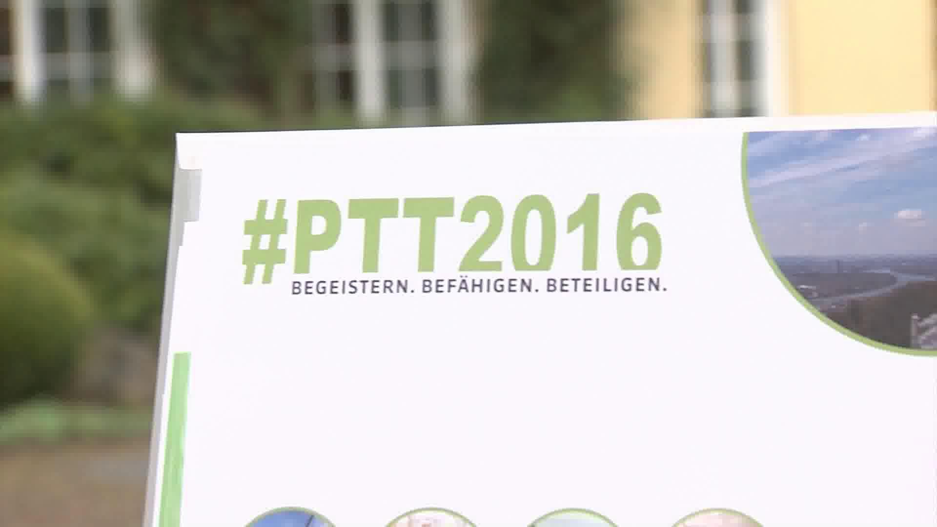 Link Begeistern. Beteiligen. Befähigen - Filmische Rückschau der #ptt2016