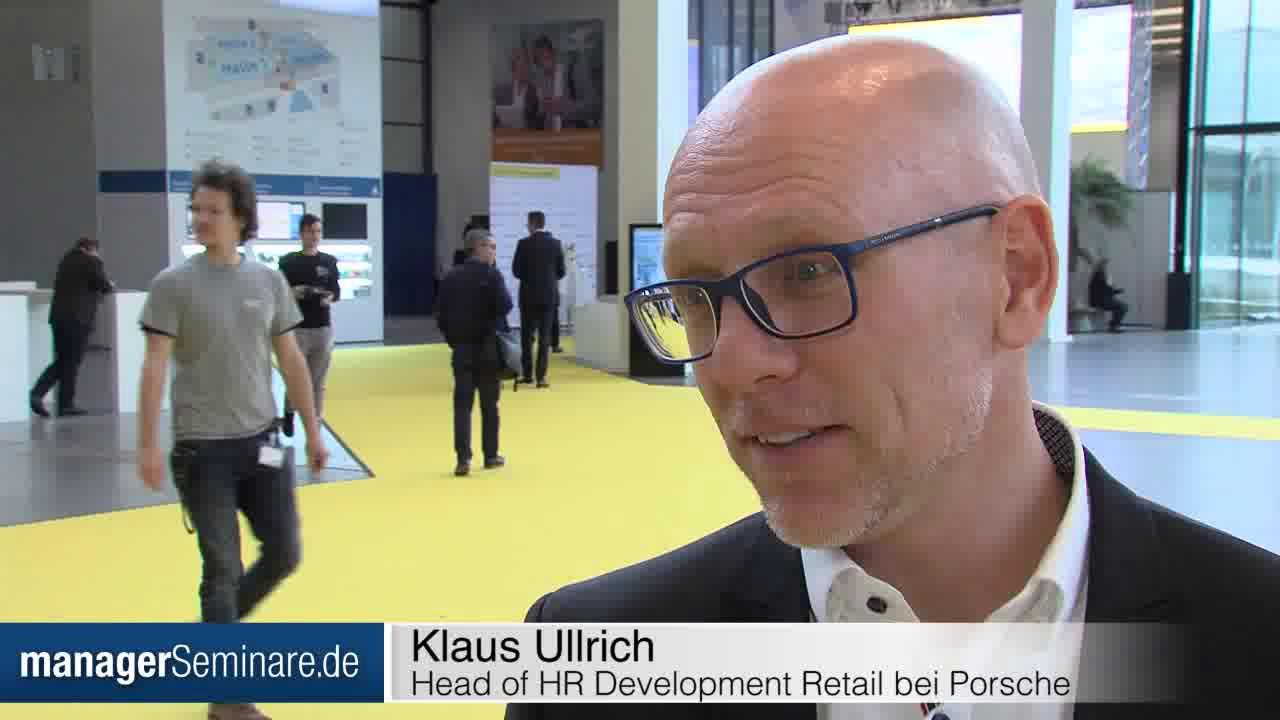 Link Klaus Ullrich über die preisgekrönte Porsche Dealer Academy