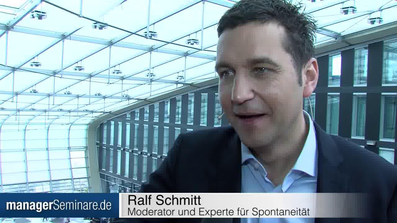 Link #PTT2017: Ralf Schmitt über die Regeln der Spontaneität