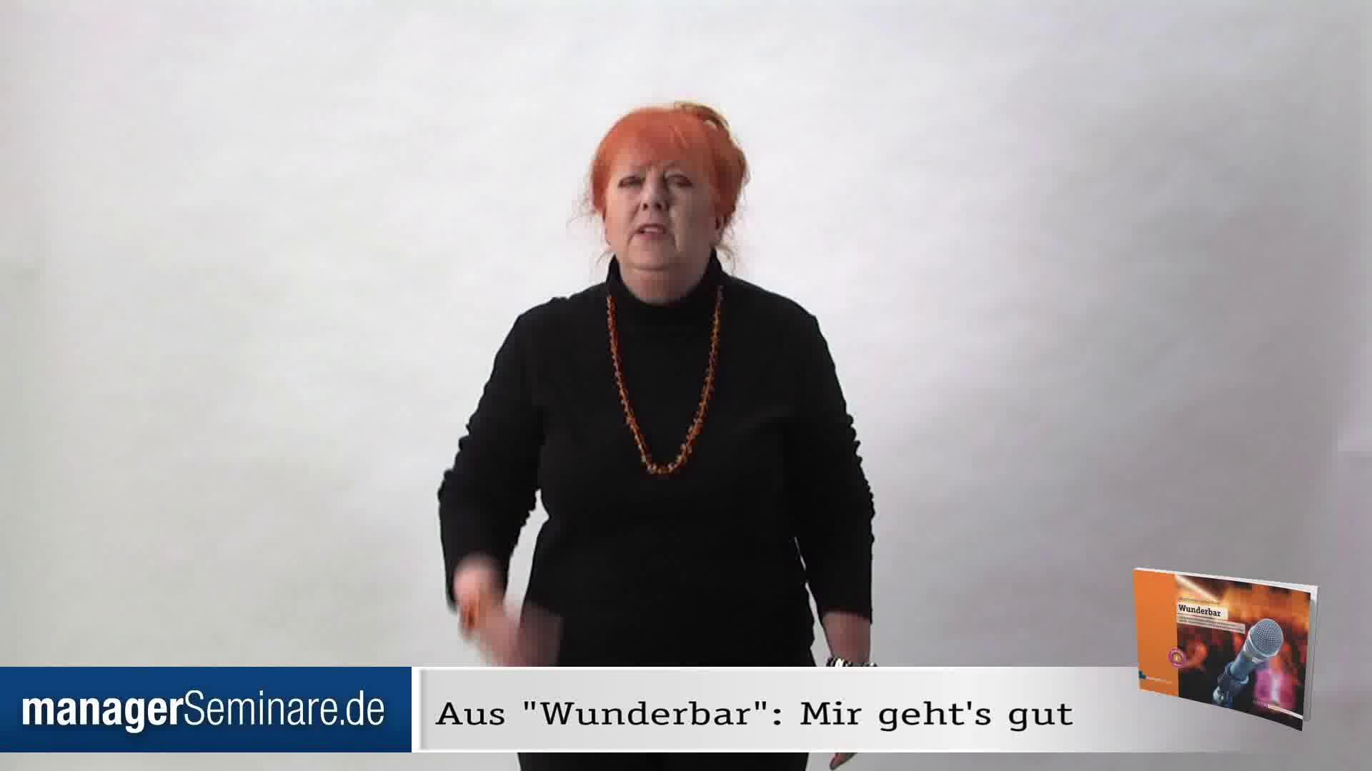 Link 'Mir geht's gut', eine Mitmach-Übung von Margit Hertlein