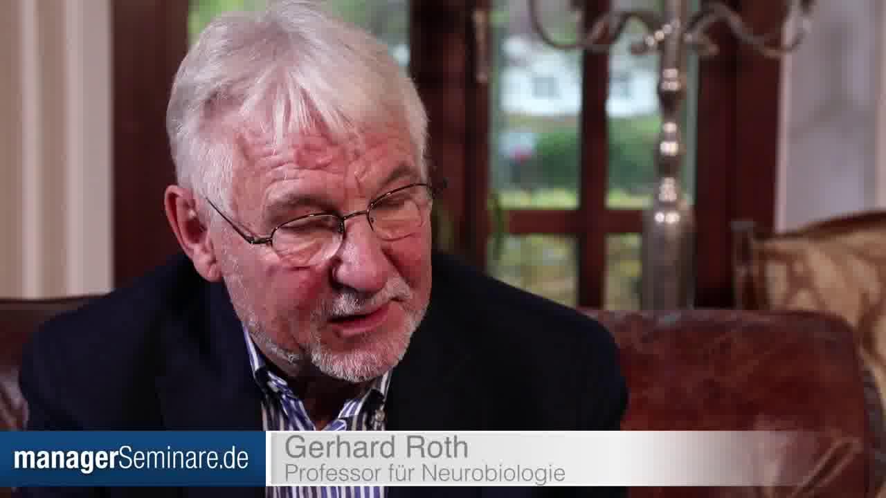 Link Gerhard Roth über das agile Mindset und die Veränderbarkeit von Menschen