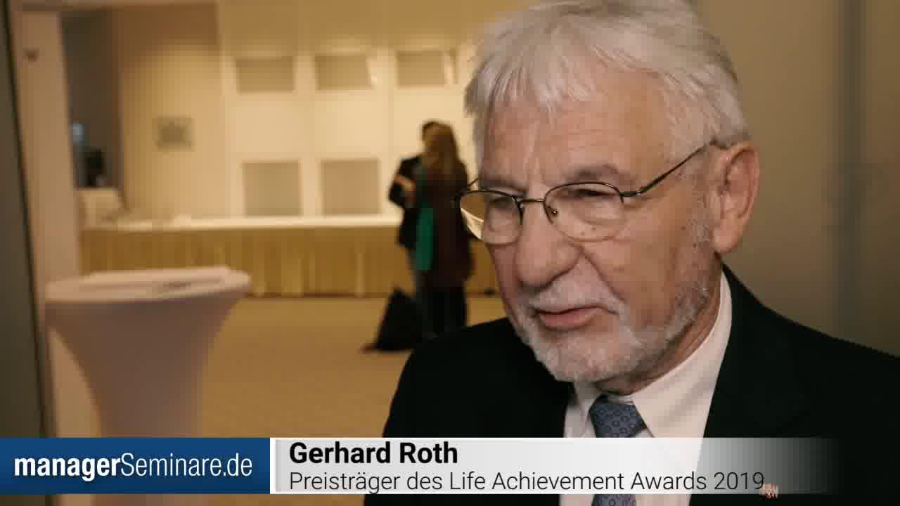 Gerhard Roth im Interview: Wie veränderbar ist der Mensch?