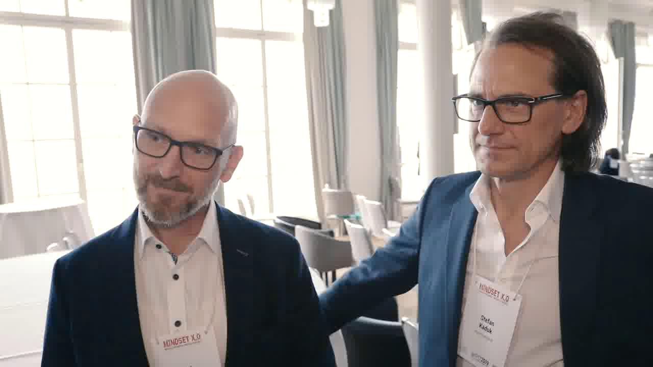 """Link Dirk Osmetz und Stefan Kaduk: """"Wenn wir nicht mehr experimentieren, bedeutet das Stillstand"""" #PTT2019"""