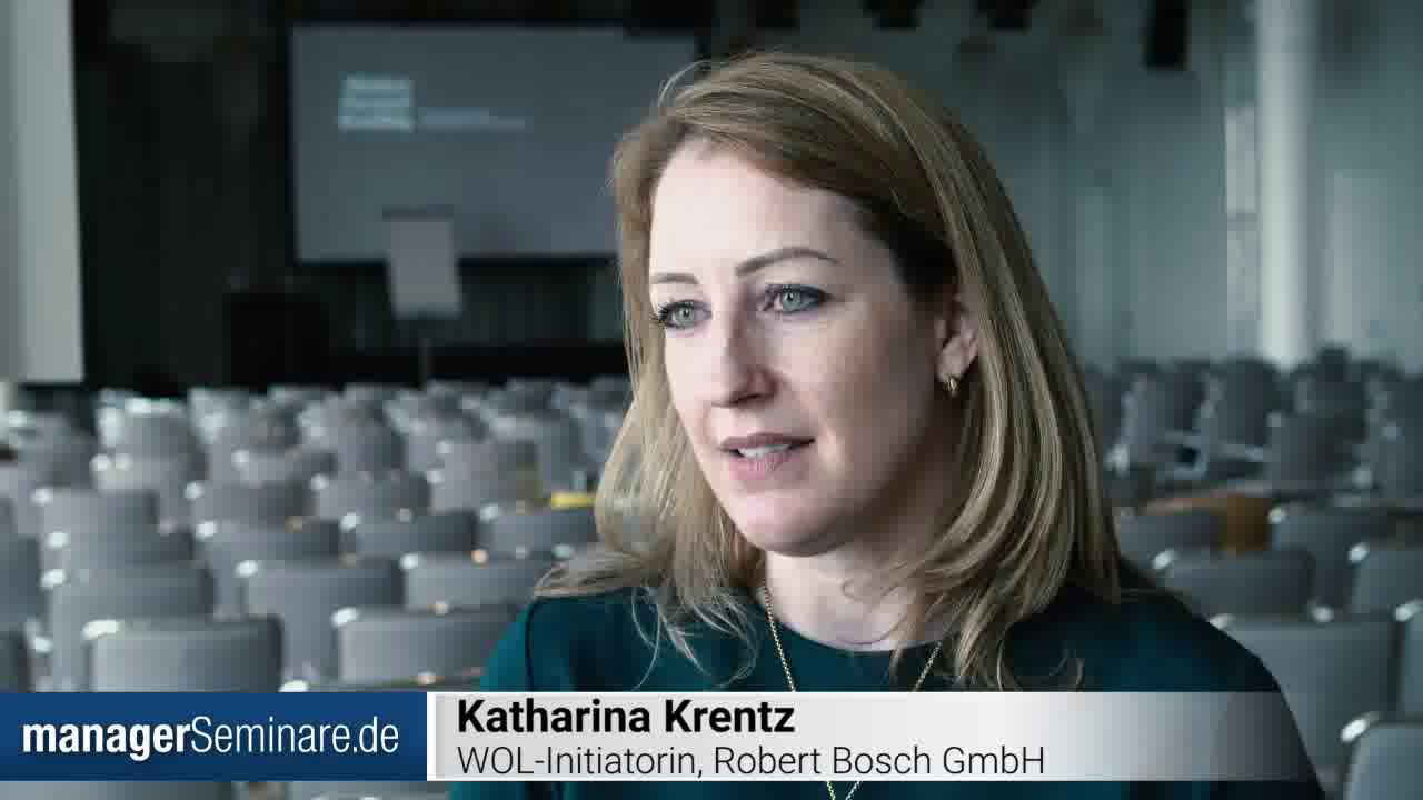 Link Katharina Krentz über Working Out Loud bei Bosch #PTT2019