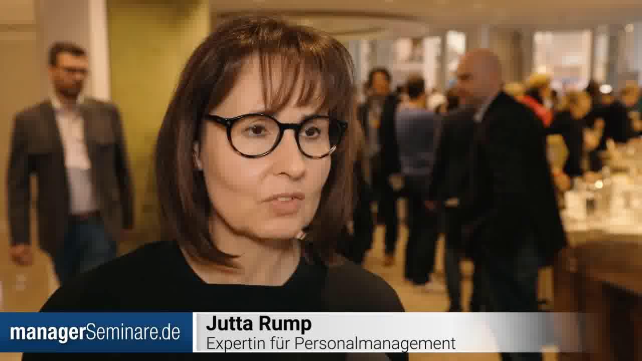"""Link Jutta Rump auf den PTT2019: """"Personalentwicklung in der Transformation ist Trial and Error"""""""