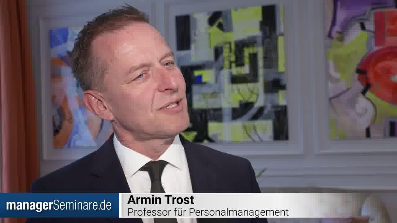 Armin Trost über die Herausforderungen von Führungskräften