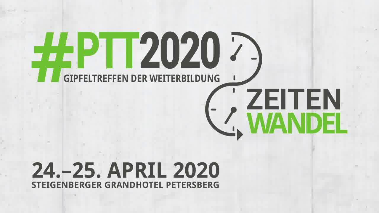 Ausblick auf die #PTT2020