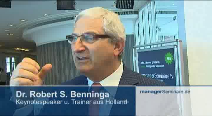Link Robert Benninga auf den Petersberger Trainertagen